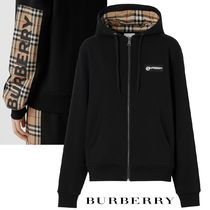 ∞∞ Burberry ∞∞ Paneled checked コットンフーディー☆