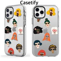 送関込★Casetify★Who run the world 多国籍女子 iPhone Case