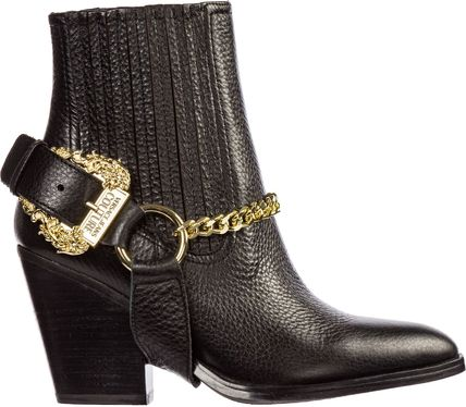 VERSACE JEANS シューズ・サンダルその他 Versace Jeans Couture◇26Womens アンクル ブーツ booties