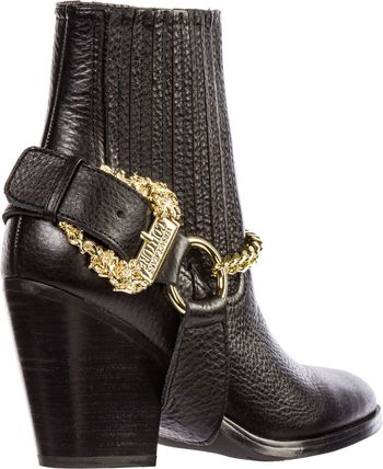 VERSACE JEANS シューズ・サンダルその他 Versace Jeans Couture◇26Womens アンクル ブーツ booties(3)