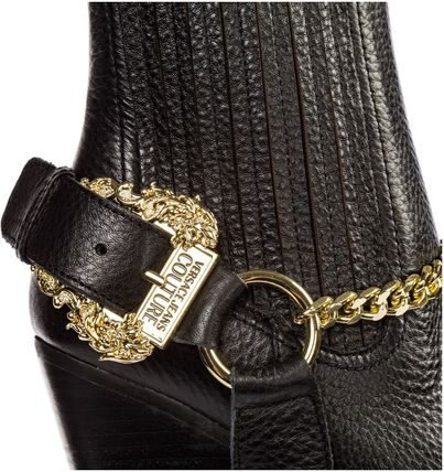 VERSACE JEANS シューズ・サンダルその他 Versace Jeans Couture◇26Womens アンクル ブーツ booties(6)