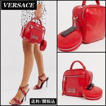 【Versace】Jeans Couture ポーチ付き ダブルジップ バッグ ♪