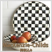 関税込み☆MacKenzie-Childs☆Courtly Check Platter40cm