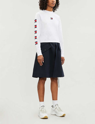 Tommy Hilfiger Tシャツ・カットソー 日本未入荷!!【Tommy Jeans】袖ロゴ フラッグ ロンT(2)