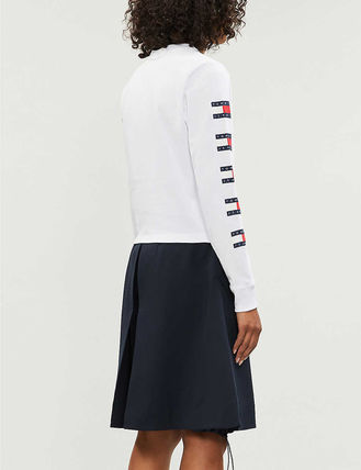 Tommy Hilfiger Tシャツ・カットソー 日本未入荷!!【Tommy Jeans】袖ロゴ フラッグ ロンT(3)