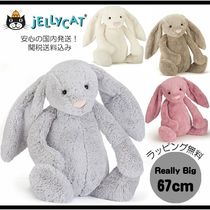 人気!!【JELLY CAT】Bashful Bunny/REALLY BIG/67cm/全4色関送込