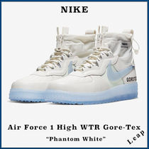 "【Nike】人気 Air Force 1 High WTR GORE-TEX ""Phantom White"""