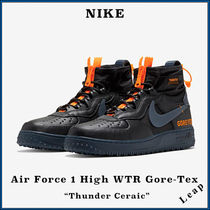 "【Nike】人気 Air Force 1 High WTR GORE-TEX ""THUNDER CERAMIC"""