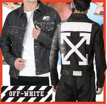 ★関税負担★人気★【Off-White】★DENIM JACKET★