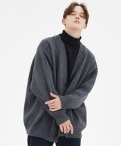 ◆COMPAGNO◆ HEAVY OVERFIT CARDIGAN (全5色) カーディガン