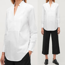 COS TEXTURED COTTON TUNIC