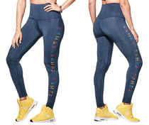 【NEW】Zumba Sparkle Ankle Leggings With Swarovski Crystals