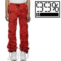 ★99% IS-★ GOBCHANG PANTS (Red/Black) ★関税 送料込★