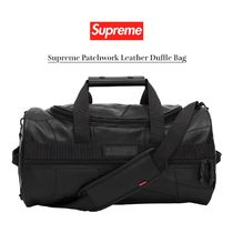 FW19 Supreme Patchwork Leather Duffle Bag - ボストンバッグ