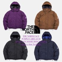 THE NORTH FACE PURPLE LABEL 63/35 MOUNTAIN SHORT DOWN PARKA