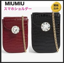 国内発送★MIUMIU★phone cross-body bag