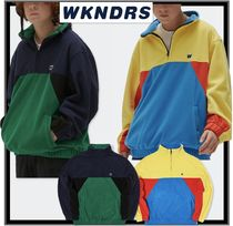 ★イベント/関税込★WKNDRS★CUTTED FLEECE JUMPER★2色★