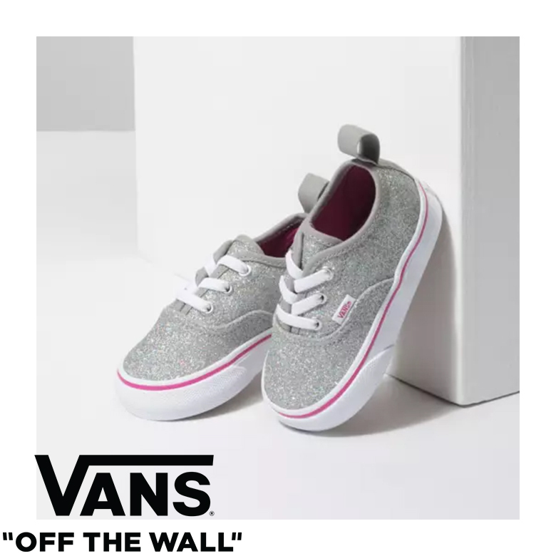 Shop VANS Glitter Baby Girl Shoes by