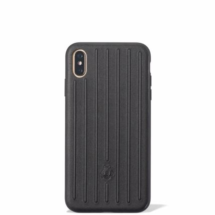 RIMOWA スマホケース・テックアクセサリー ★RIMOWA★ Leather Black Case for iPhone XS / XS Max(2)
