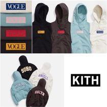 日本未発売!【KITH × VOGUE × Russell Athletic】LOGO HOODIE