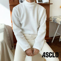 ASCLO Knit Fabric 起毛 T-shirt s902