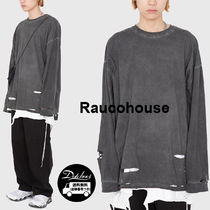 Raucohouse SAFETY PIN DAMAGED LONG SLEEVE T KH67 追跡付