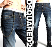 18SS DSQUARED2 ディースクエアード チェーン付 SEXY TWIST JEAN