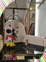 kate spade★minnie mouse chain walletミニー マウスウォレット