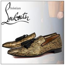 20SS【Christian Louboutin】Officialito タッセル ローファー