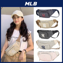 人気【MLB】★NEW YORK YANKEES MONOGRAM WAIST BAG★19AW