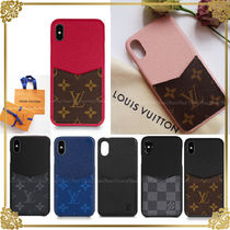 国内発☆Louis Vuitton★iPhoneX/XS/XS MAX用ケース バンパー