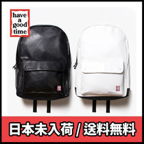 【have a good time】Frame Faux Leather Backpack