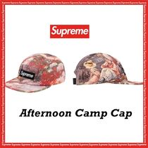 Supreme Afternoon Camp Cap FW 19 AW 19 WEEK 11