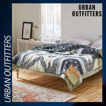 Urban Outfitters 掛け布団 キルト 綿 コットン 両面  クイーン