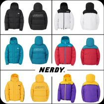[ NERDY ]★韓国大人気★ Color Block Reversible Down Jacket