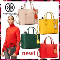 セール 新作 Tory Burch Perry Small Triple Compartment Tote