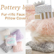 PotteryBarn★Fur-rific Faux-Fur クッションカバー 5色