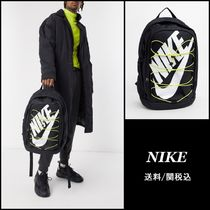 【Nike】Hayward backpack with yellow lacing ブラックリュック
