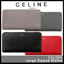 CELINE(セリーヌ) 長財布 【CELINE】Large zipped wallet 10B553BEL