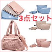 HAPP Paige Carryall Dusty Rose + pad + 3 pouches 3点セット