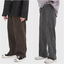 大人気!【Raucohouse】 LEOPARD COTTON LINE PANTS/男女兼用