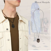 SALE**MAISON MARGIELA** Crest chain necklaceネックレス