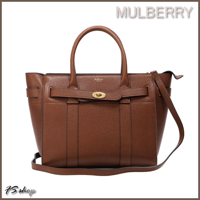 Mulberry 正規品/EMS発送/送料込み SMALL ZIPPED BAYSWATER BAG (Mulberry/ショルダーバッグ・ポシェット) HH4382 346 G110