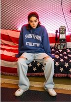 日本未入荷★SAINTPAIN★ATHLETIC PIGMENT CREWNECK 2色