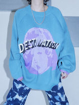 日本未入荷★openthedoor★DESTINATION over knit