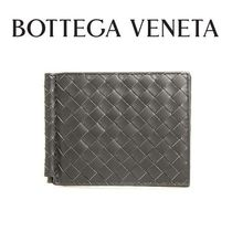 19AW ☆BOTTEGA VENETA☆Money Clip 折り財布 ARDOISE♪