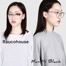 [送料込] Raucohouse◆BROWLINE MODERN GLASSES_韓国発
