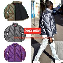 FW19 Supreme Iridescent Puffy Jacket- パフィジャケット