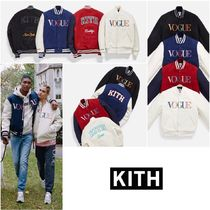 【KITH × VOGUE × Russell Athletic】VARSITY JACKET