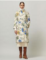 Tory Burch QUILTED TRENCH COAT